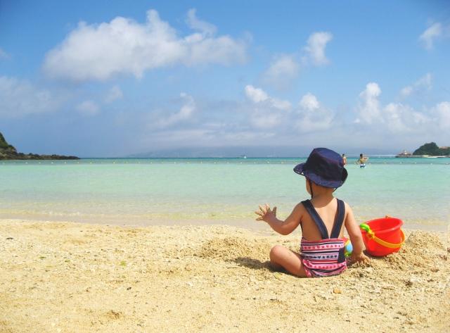 海辺の子ども