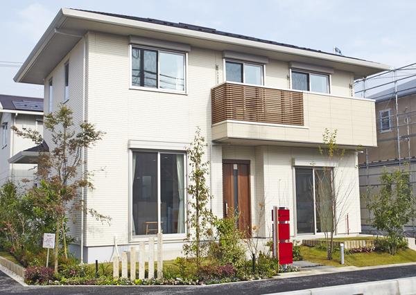 「アクティブ土間収納のある家」の外観