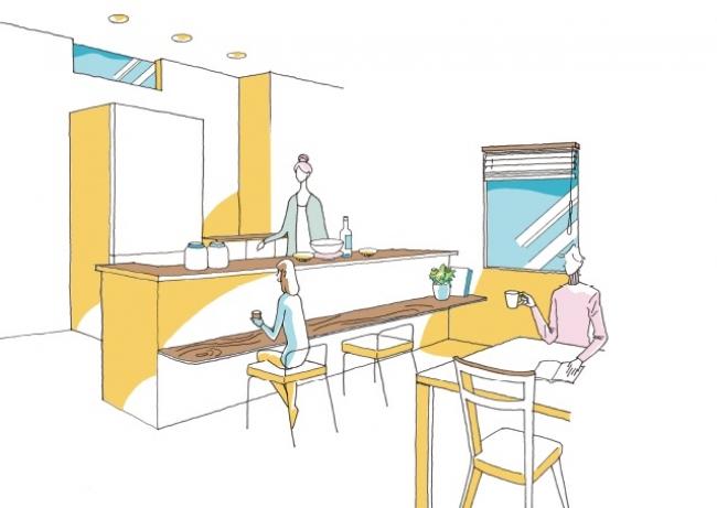 <レシピNo.2>癒される贅沢 カフェキッチン
