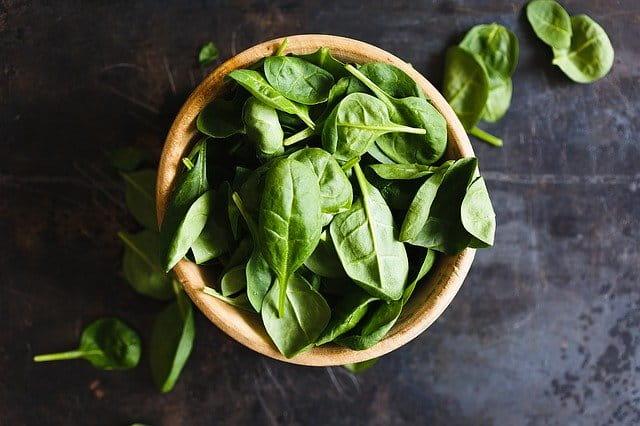 葉物野菜にはペーパータオル